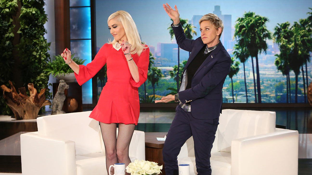 Gwen Stefani on Ellen Still - H 2015
