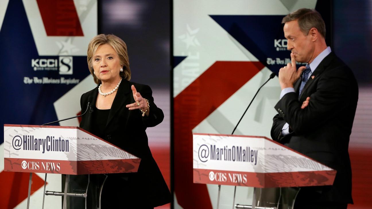 Hillary Clinton CBS Debate - H - 2015