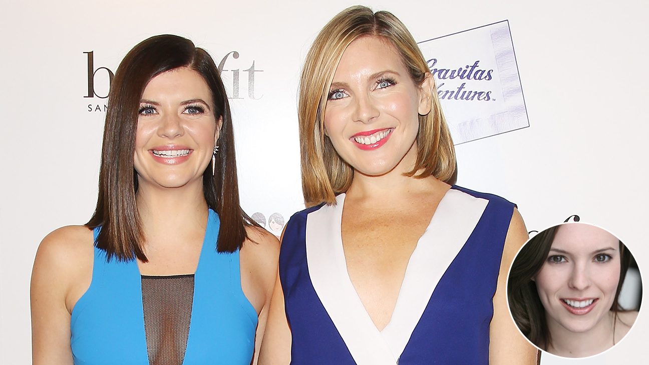 Casey Wilson and June Diane Raphael with Elizabeth Laime Inset - H 2015