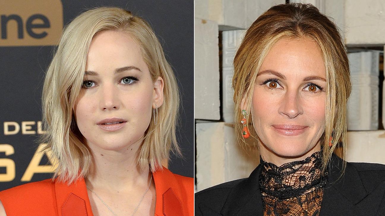 Jennifer Lawrence and Julia Roberts - H 2015