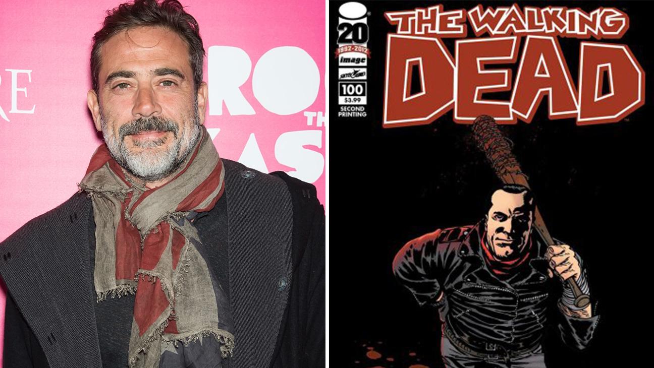 Walking Dead comic Negan with Jeffrey Dean Morgan - H 2015