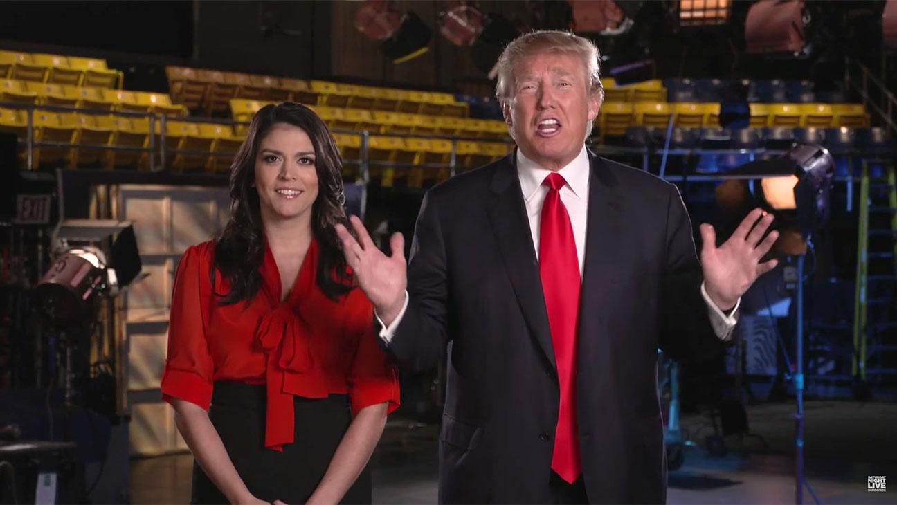 Host Donald Trump Shops Around SNL For A Running Mate Screen Shot- H 2015