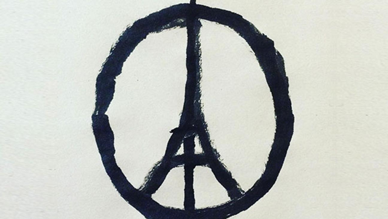 Paris Peace Sign - H 2015