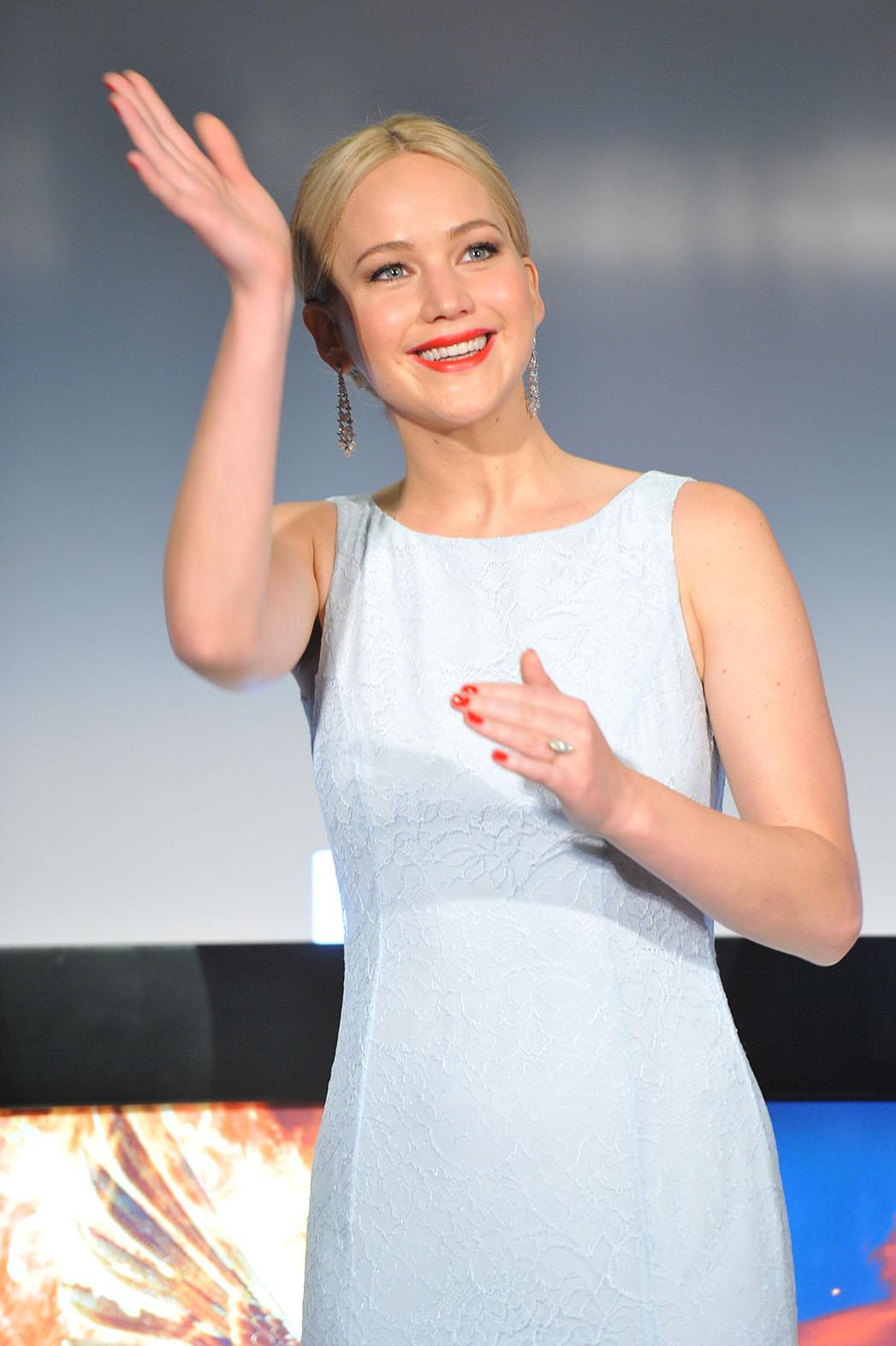 Jennifer Lawrence in Christian Dior - P 2015