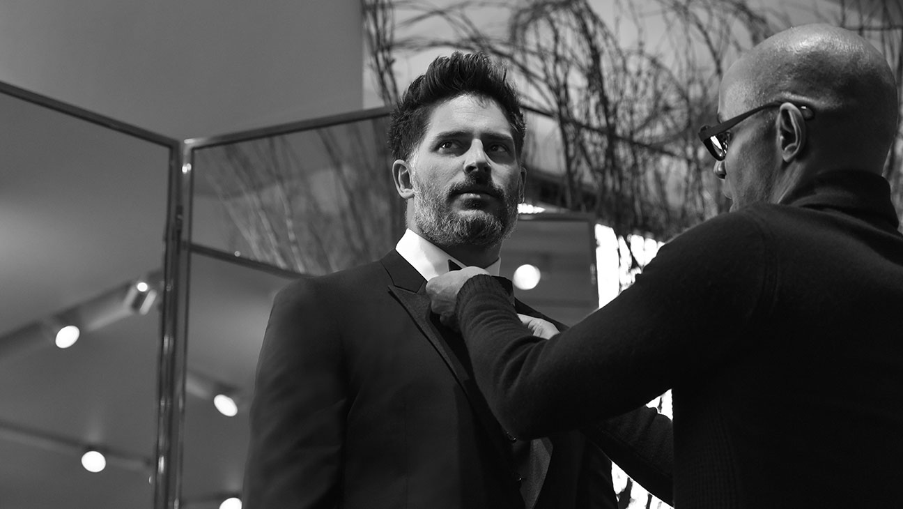 Joe Manganiello Wedding Tux - H 2015