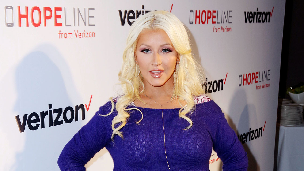 Christina Aguilera discussed her partnership with HopeLine - H 2015