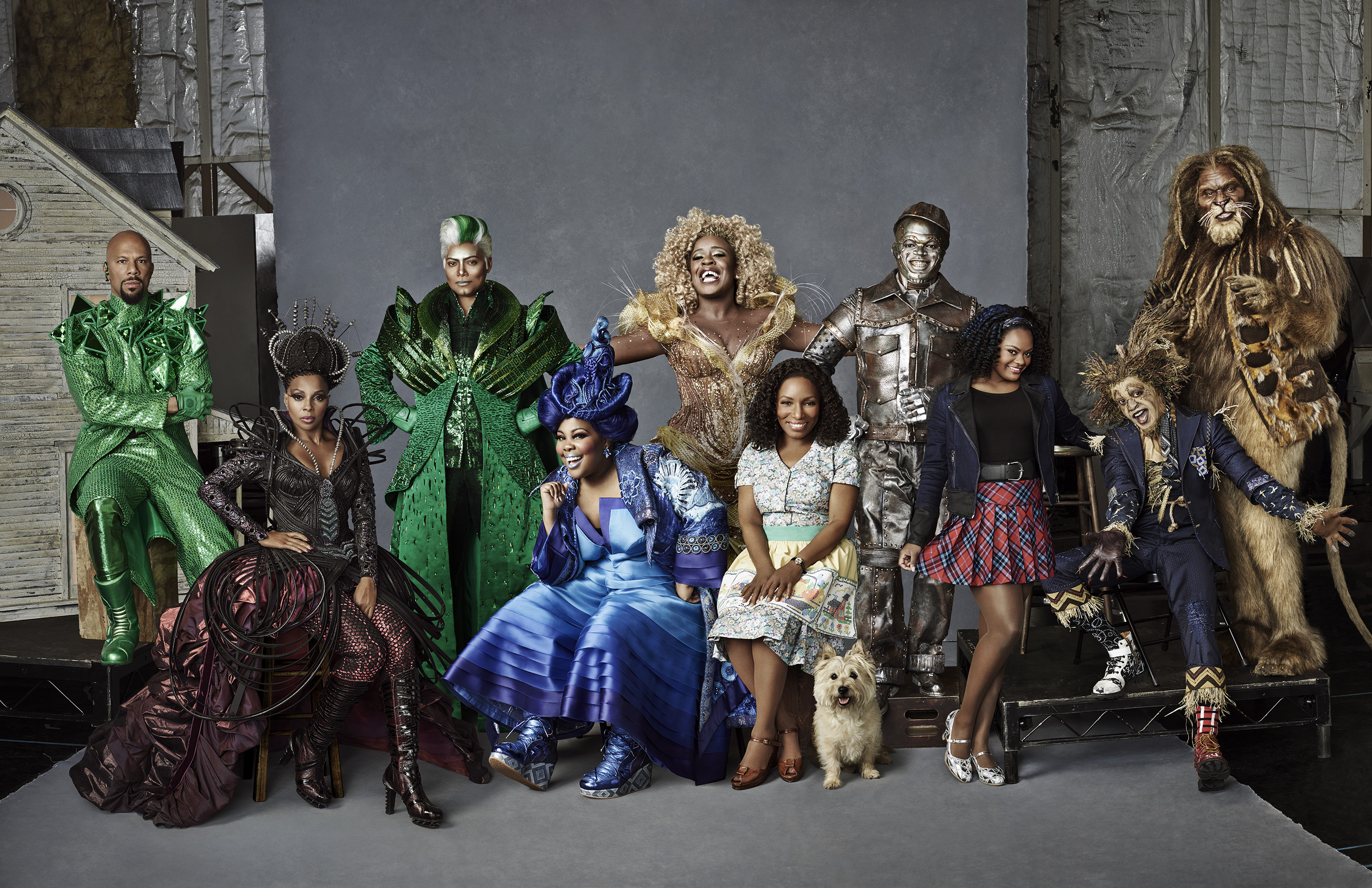 The Wiz Cast NBC H 2015