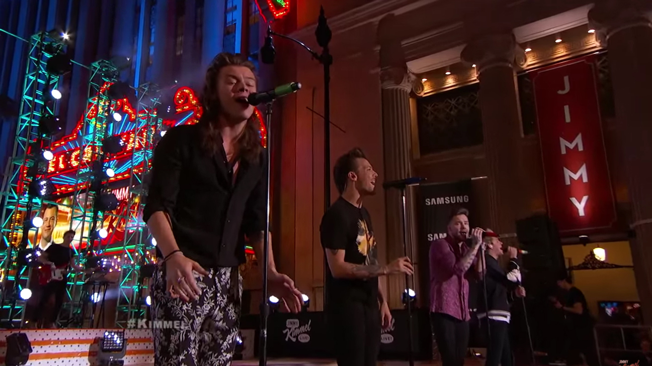 One Direction Kimmel H 2015