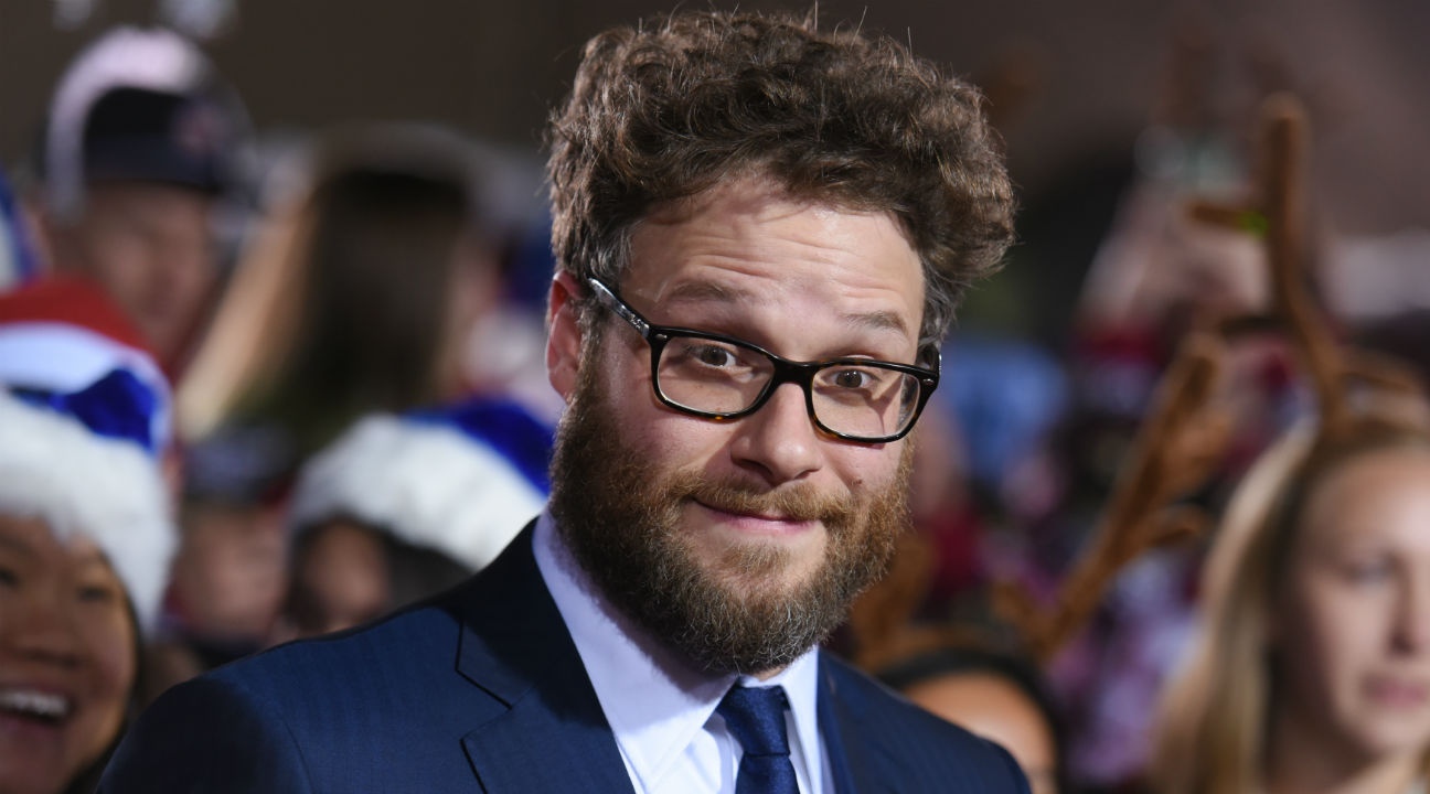 Seth Rogen at 'The Night Before' Premiere - H 2015