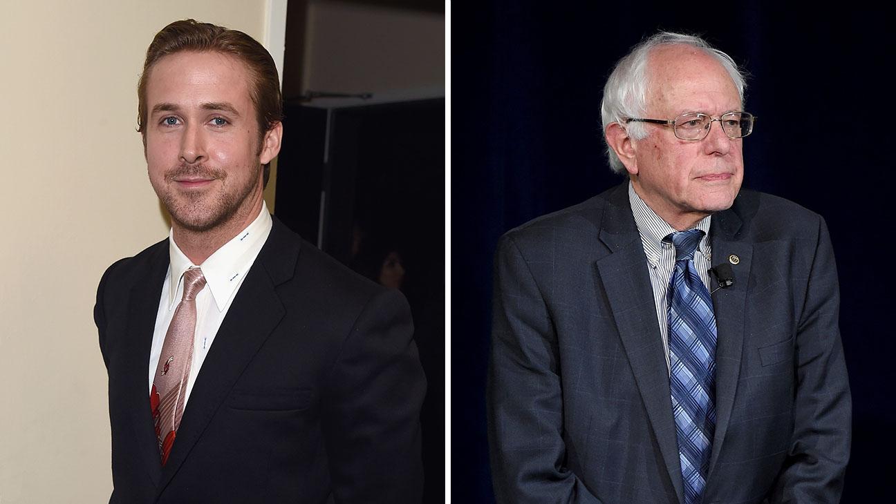 ryan gosling Bernie Sanders Split - H 2015