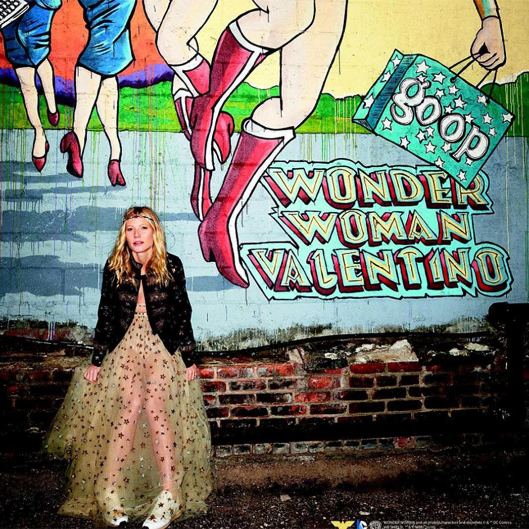 Gwyneth Paltrow Valentino Goop - sq 2015