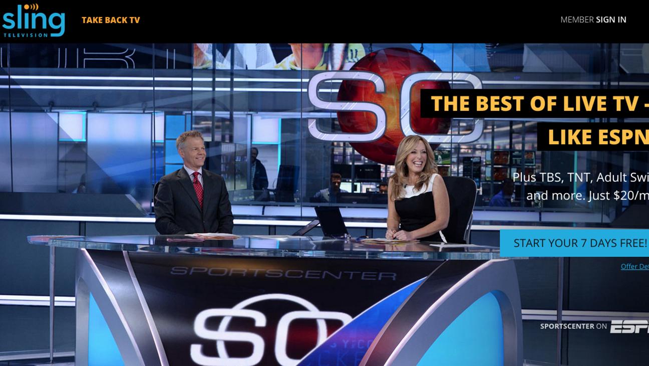 Sling TV screenshot - H 2015