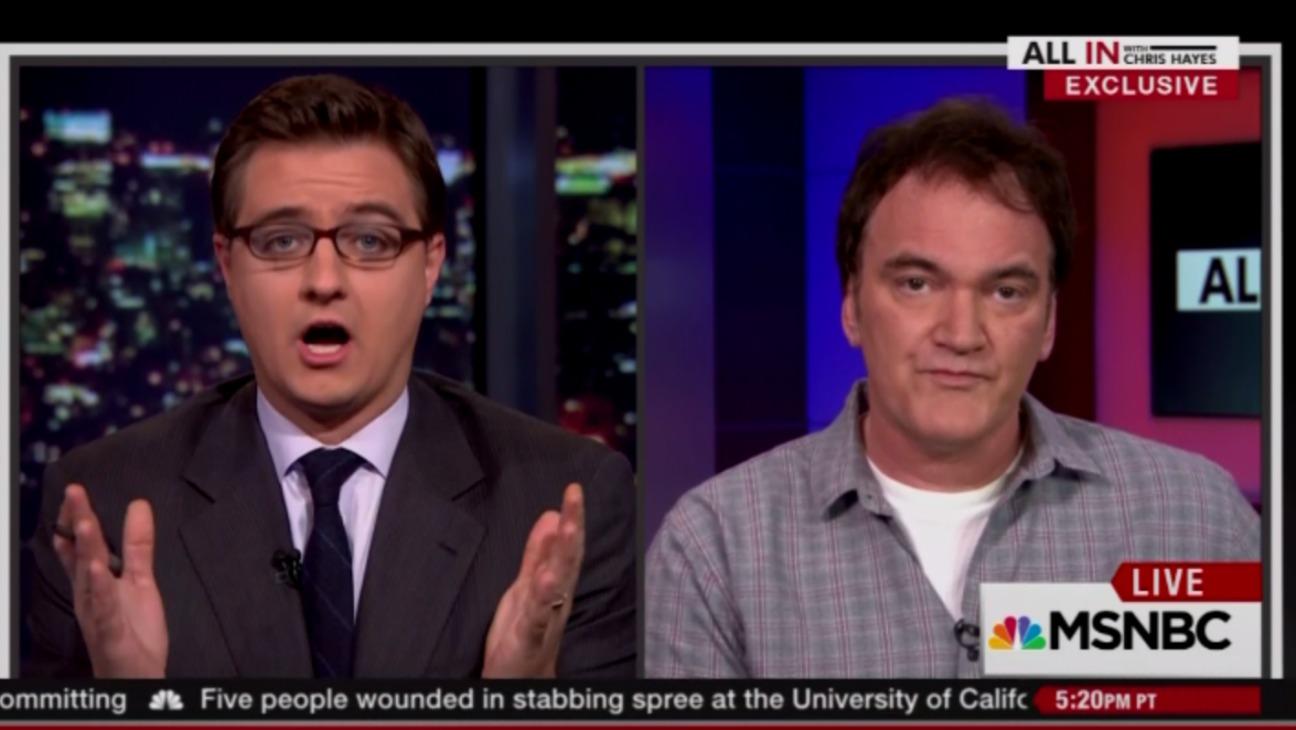 Quentin Tarantino MSNBC Still - H 2015