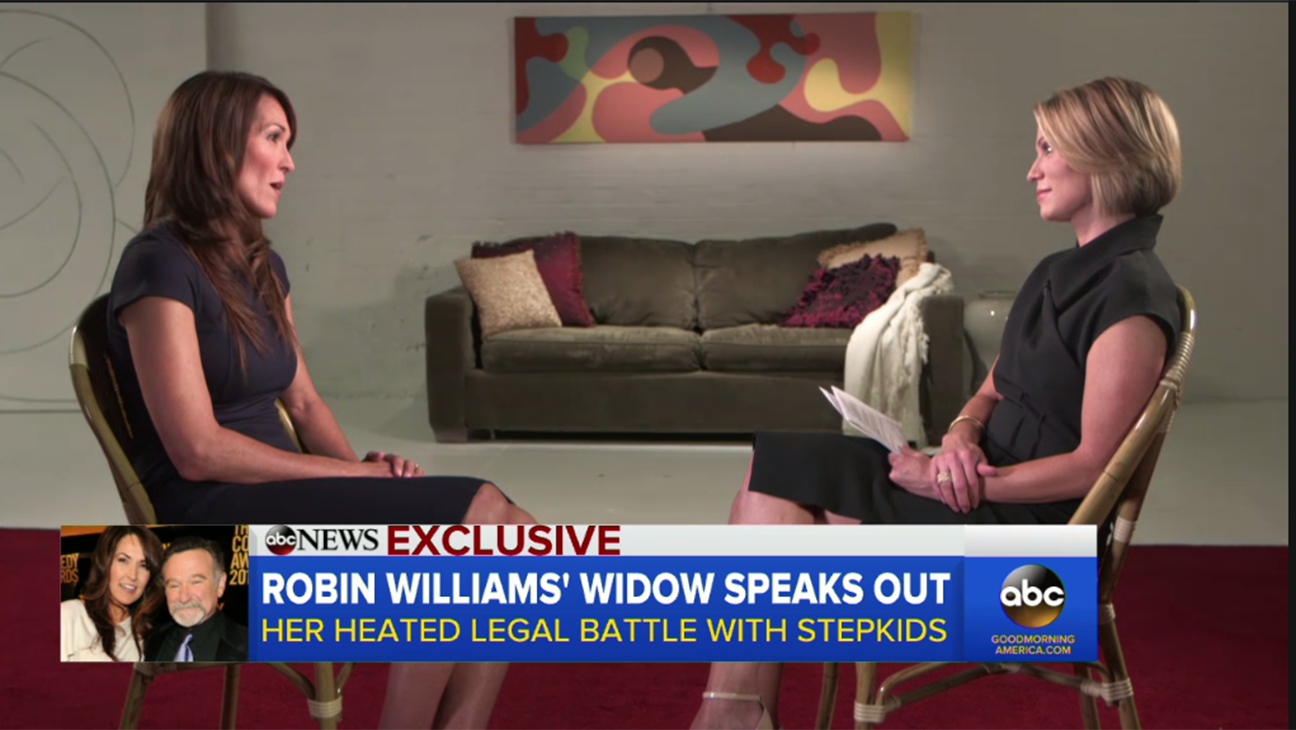 Robin Williams Widow - H 2015