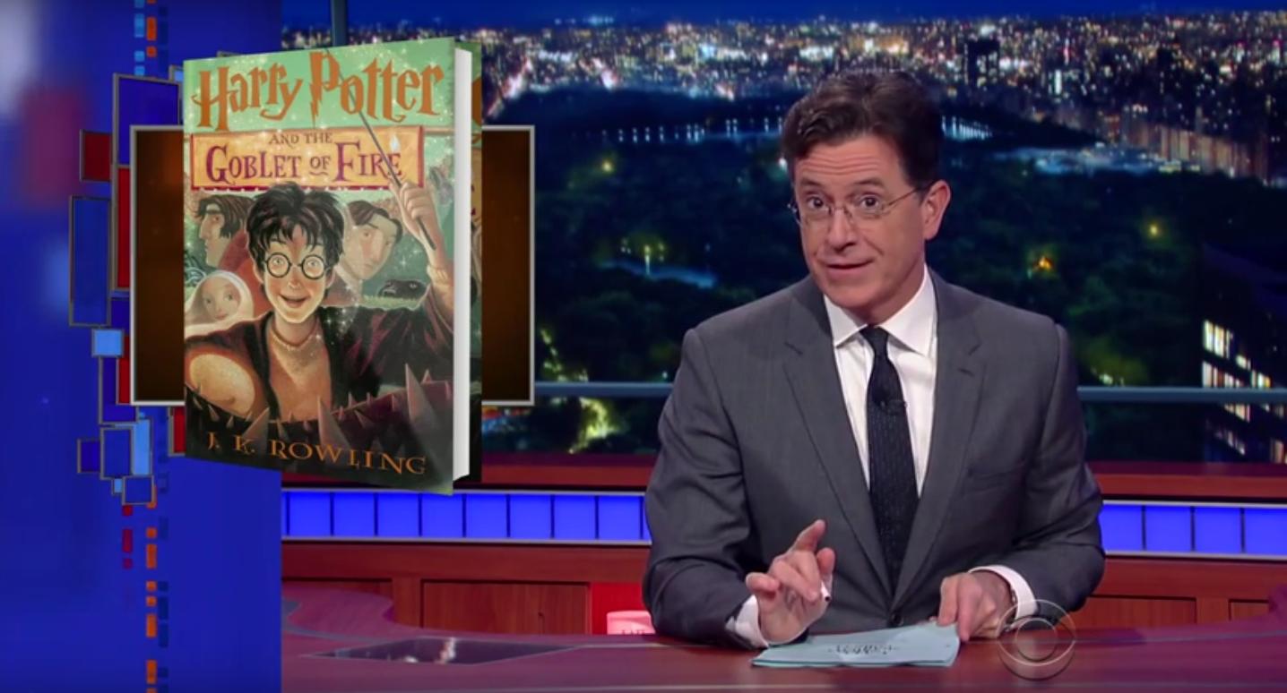 Stephen Colbert on Harry Potter - H 2015