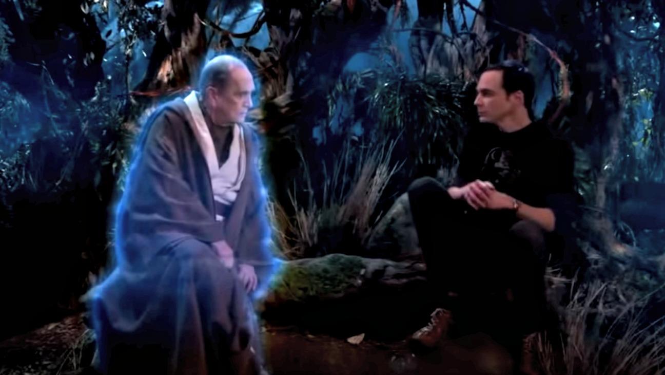 The Big Bang Theory Bob Newhart Sheldon Still - H 2015