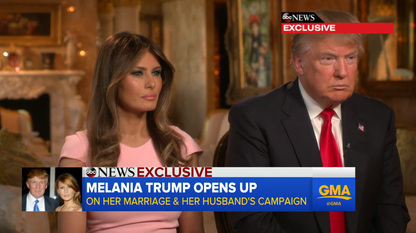 Melania and Donald Trump - H 2015