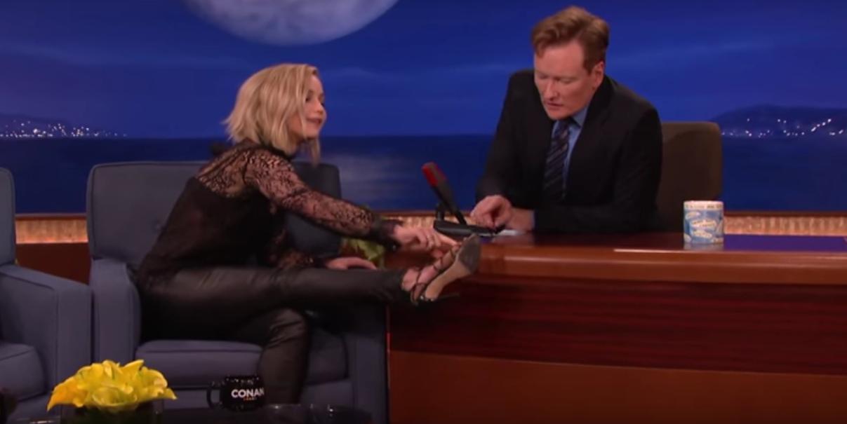 Jennifer Lawrence on Conan - H 2015