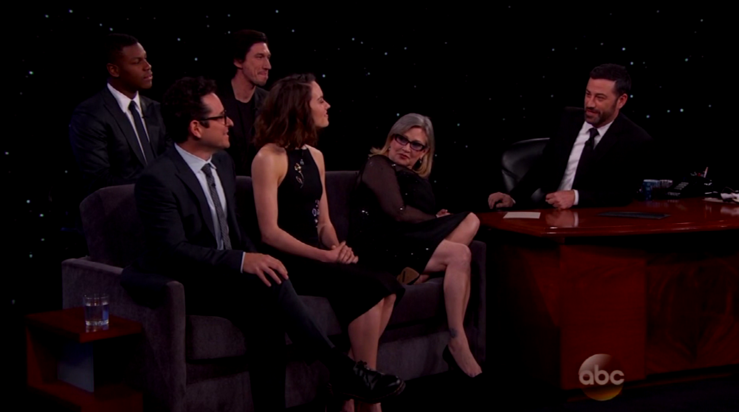 Star Wars Kimmel - H 2015