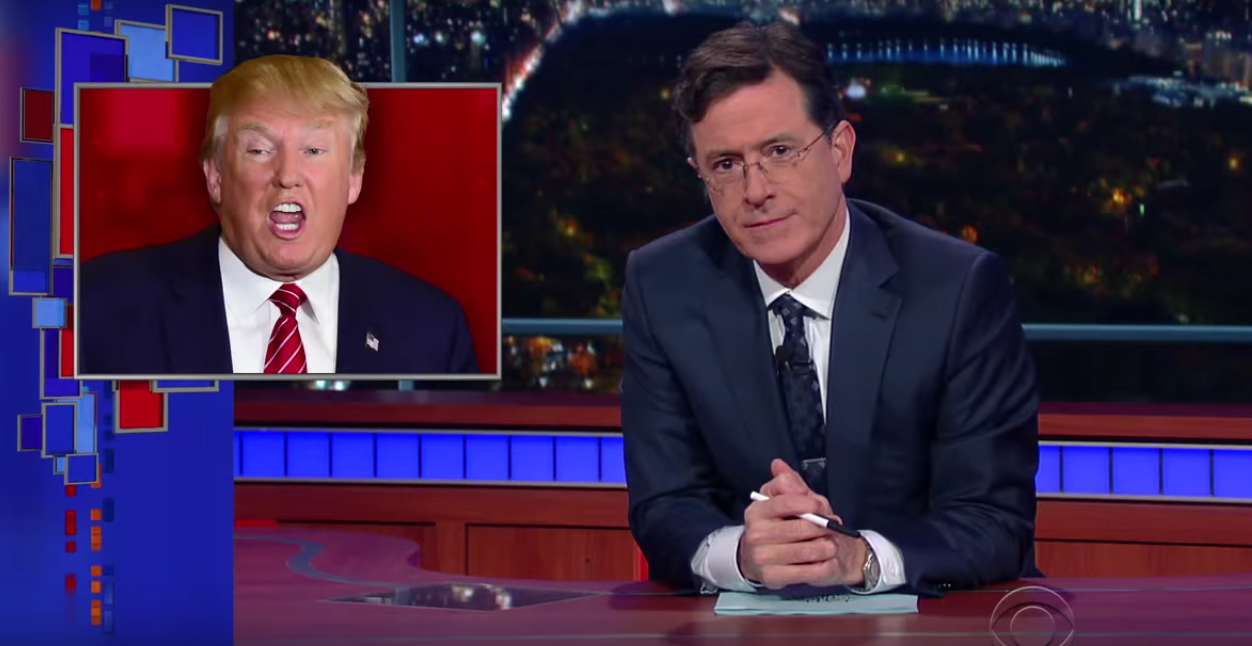 Stephen Colbert _ Donald Trump - H 2015