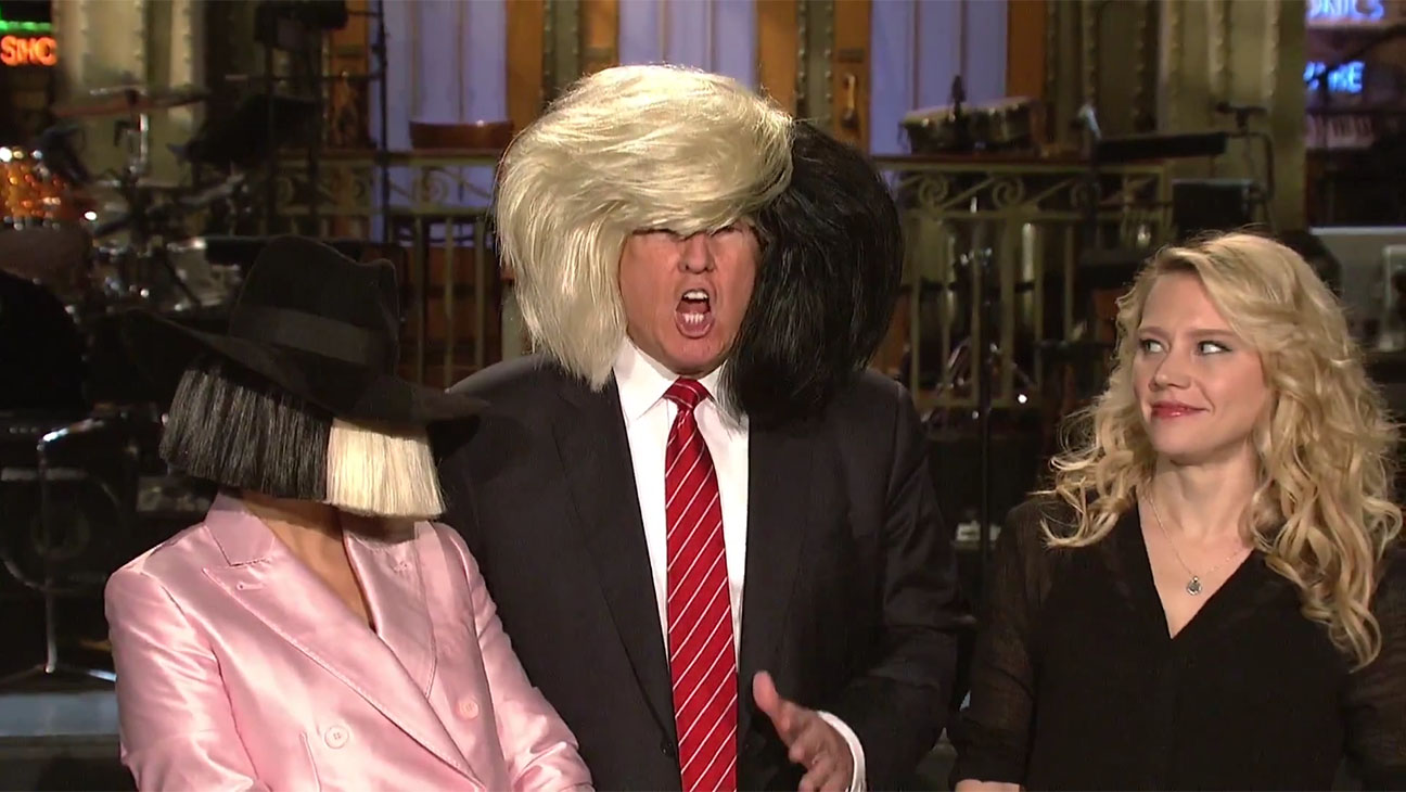 Sia wigs SNL - H 2015