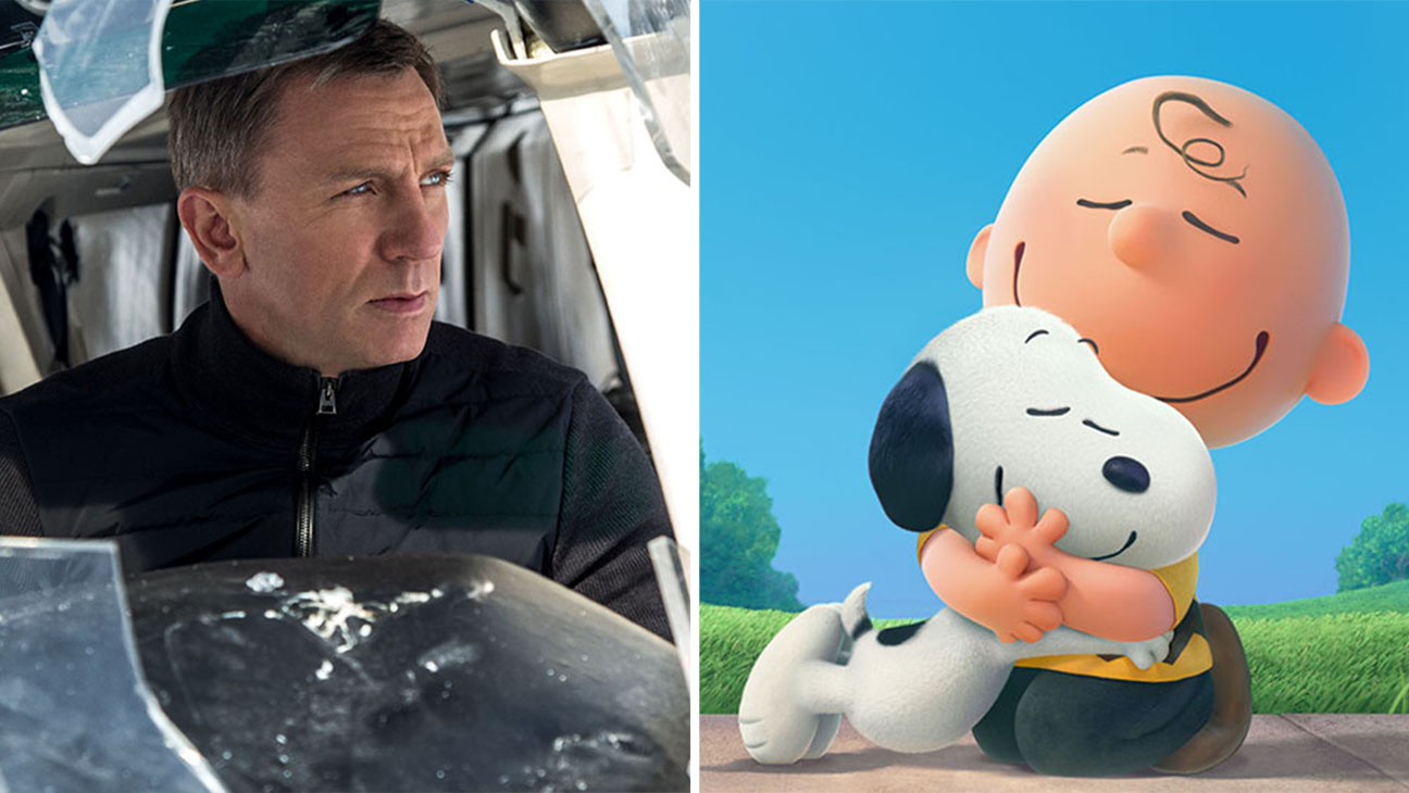 Spectre and The Peanuts Movie Split - H  2015