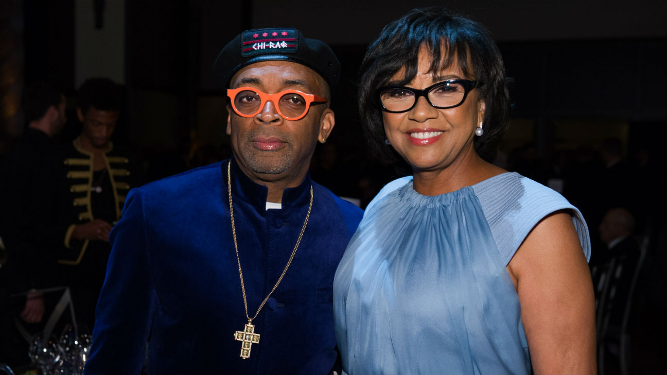 Spike Lee, Cheryl Boone Isaacs at Governors Awards - H2015
