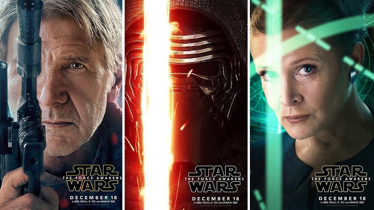 Star Wars Posters Split - H 2015
