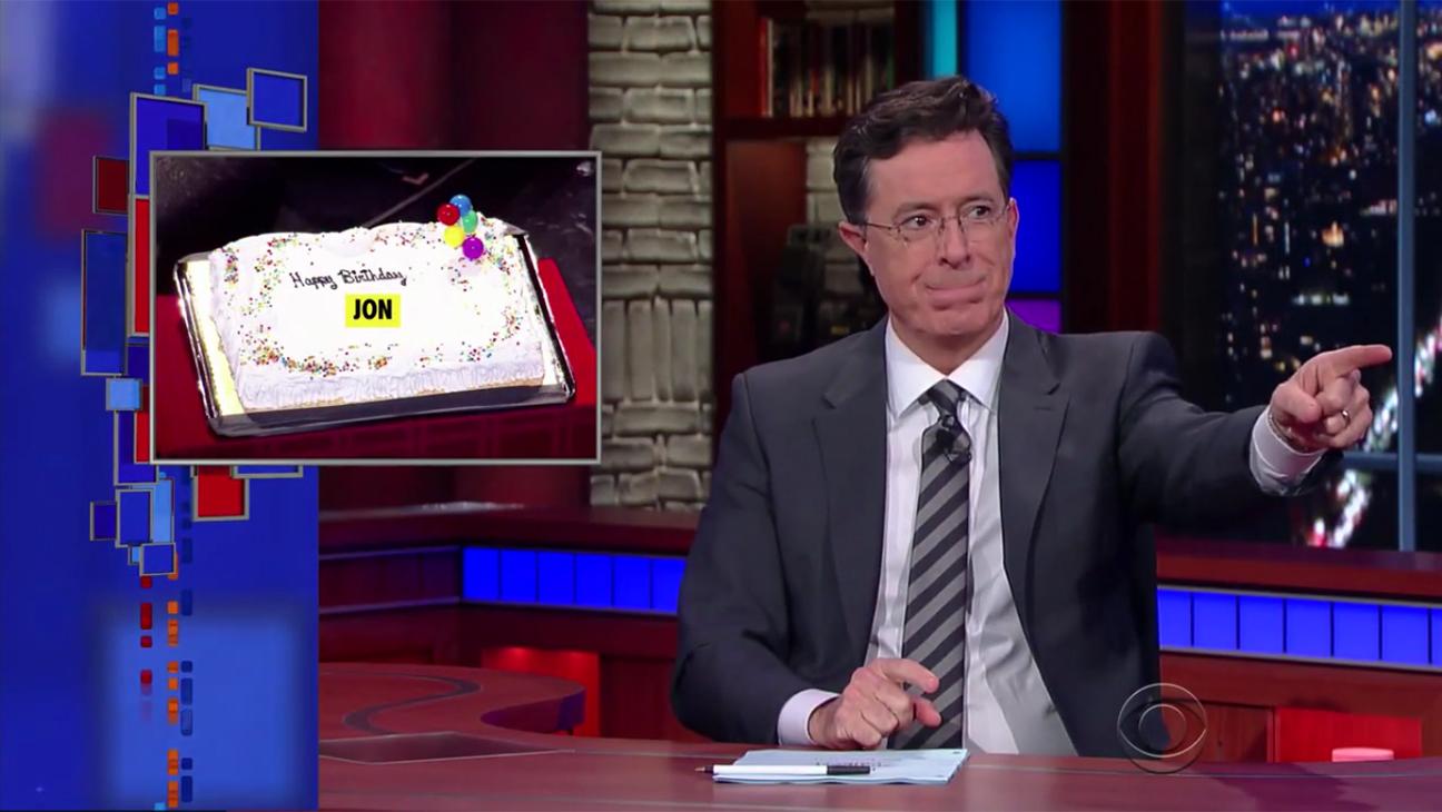 Stephen Colbert Happy Birthday H 2015