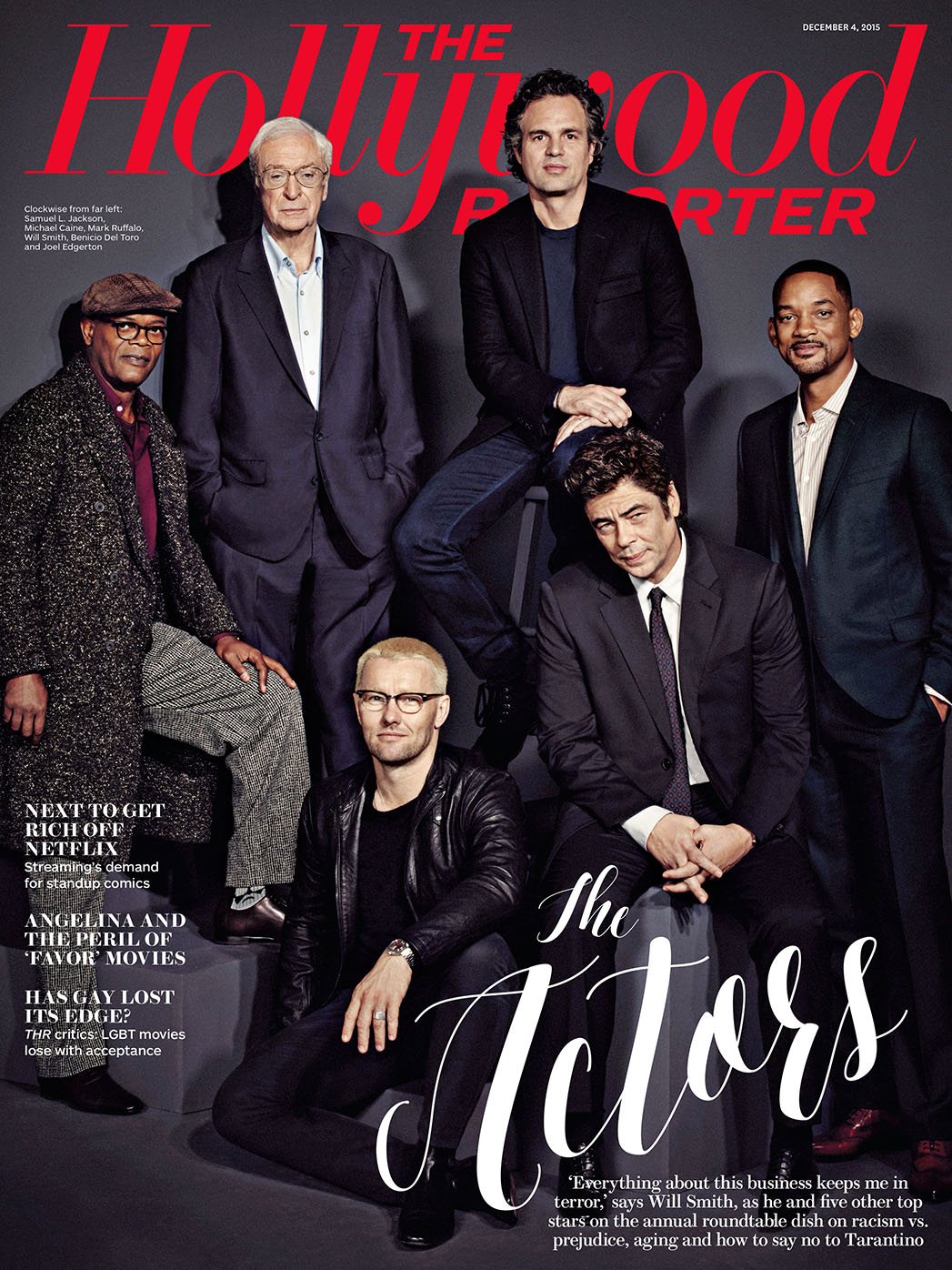 THR Issue 40 Actors RT Cover - P 2015