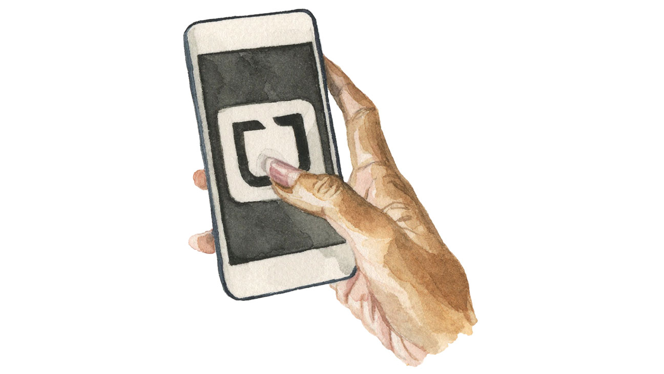 Uber Hand Illo - H 2015