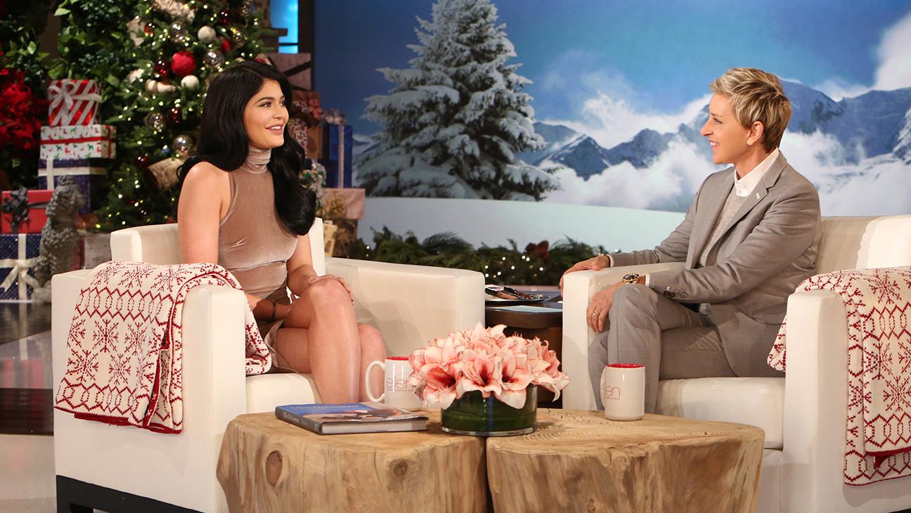 Ellen and Kylie Jenner - H 2015