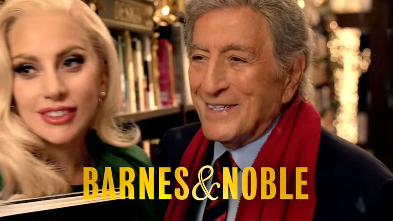 Lady Gaga and Tony Bennett You Never Know Who You'll Meet at Barnes & Noble - H 2015