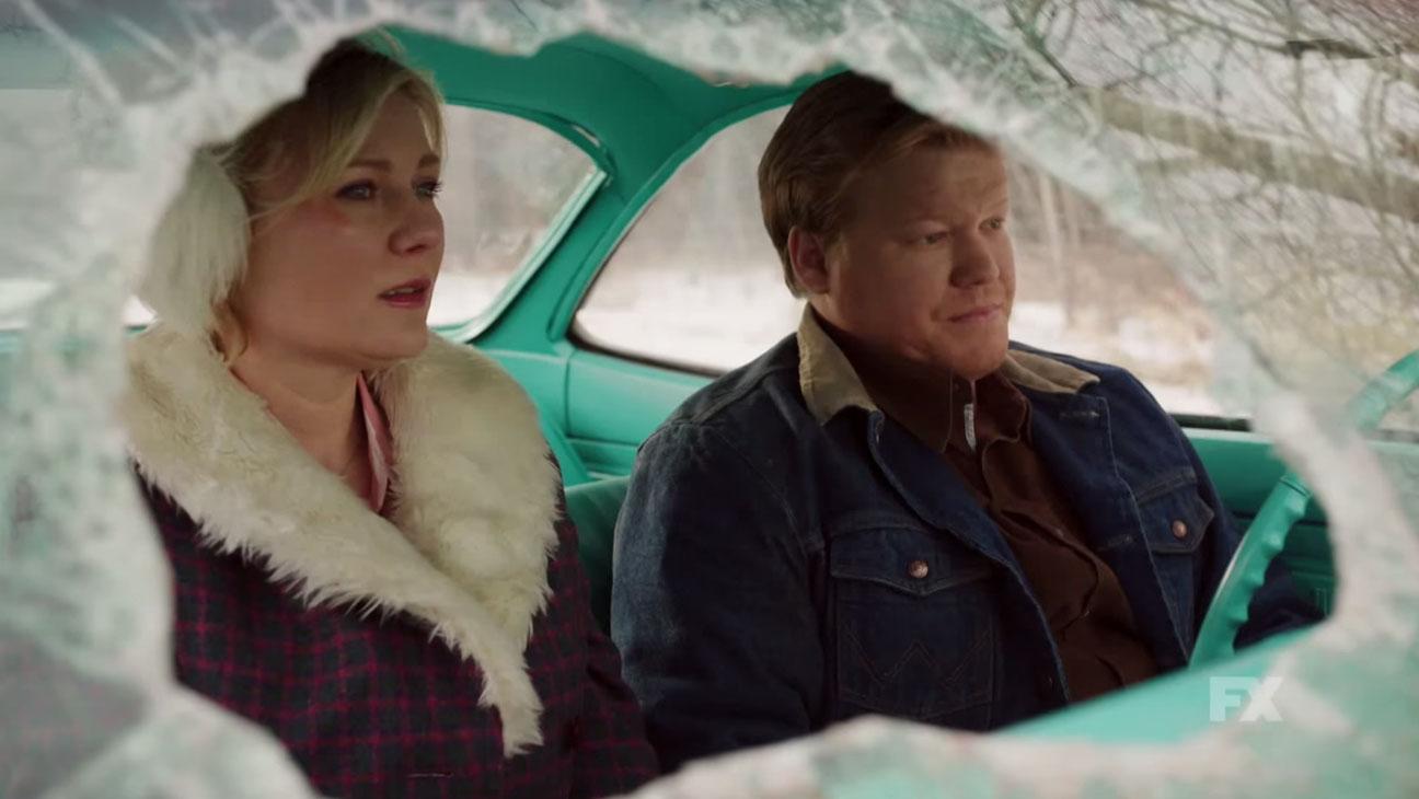 Kirsten Dunst and Jesse Plemons - Fargo - H 2015
