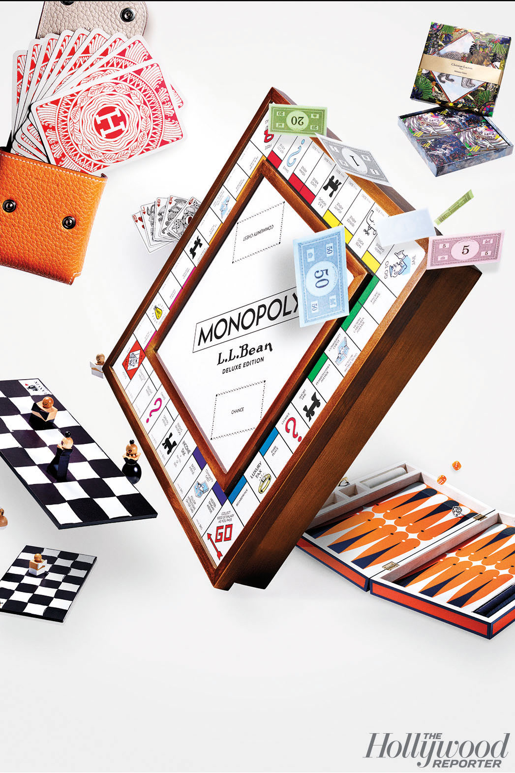 Hollywood's House of Cards - Retro Board Games - P 2015