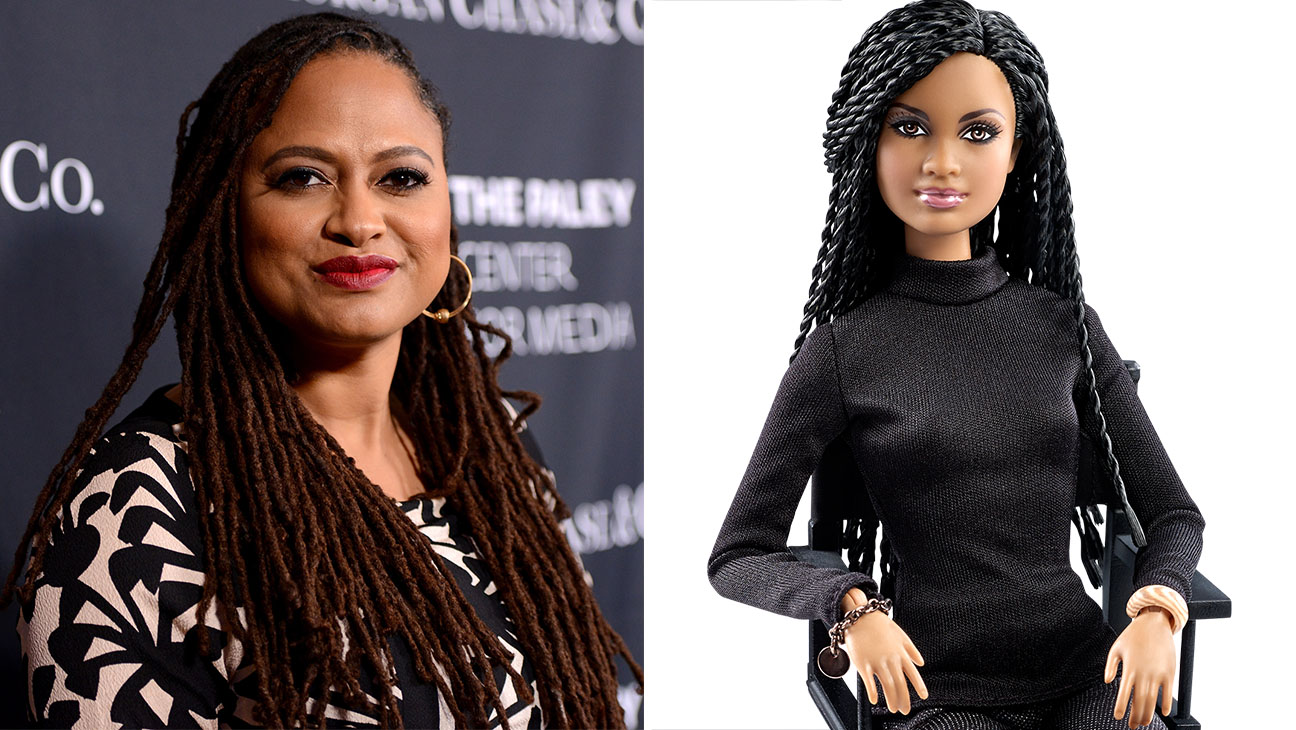 Ava DuVernay and Barbie Split - H 2015