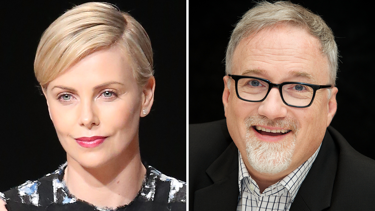 David Fincher and Charlize Theron - H 2015