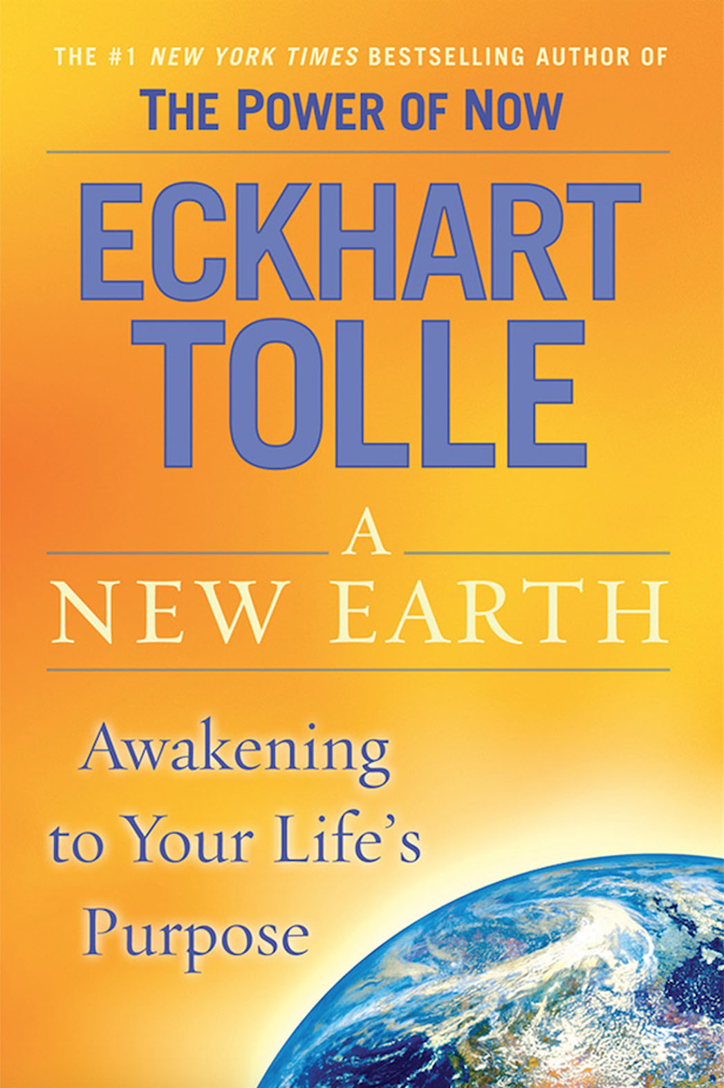 Eckhart Tolle's book A New Earth Book Cover - P 2015