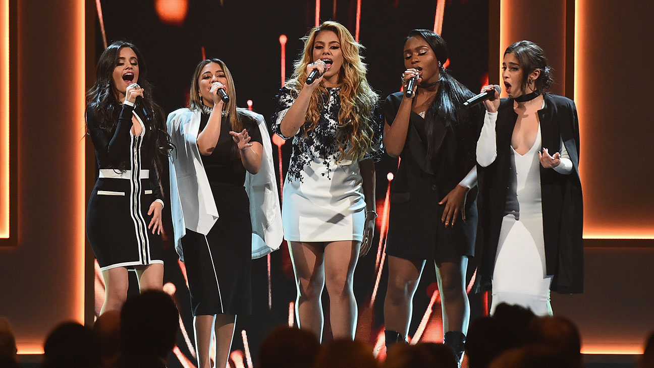 Fifth Harmony perform onstage Billboard Women in Music - H 2015