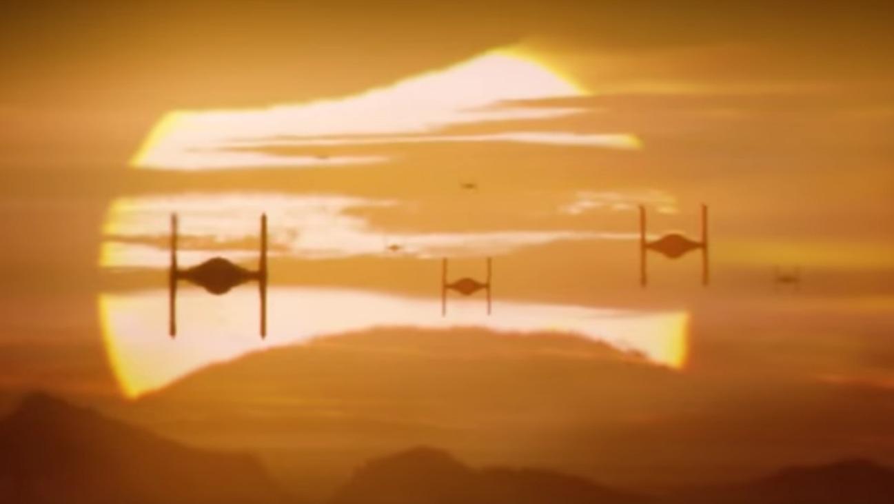 Force Awakens Sunset - H - 2015