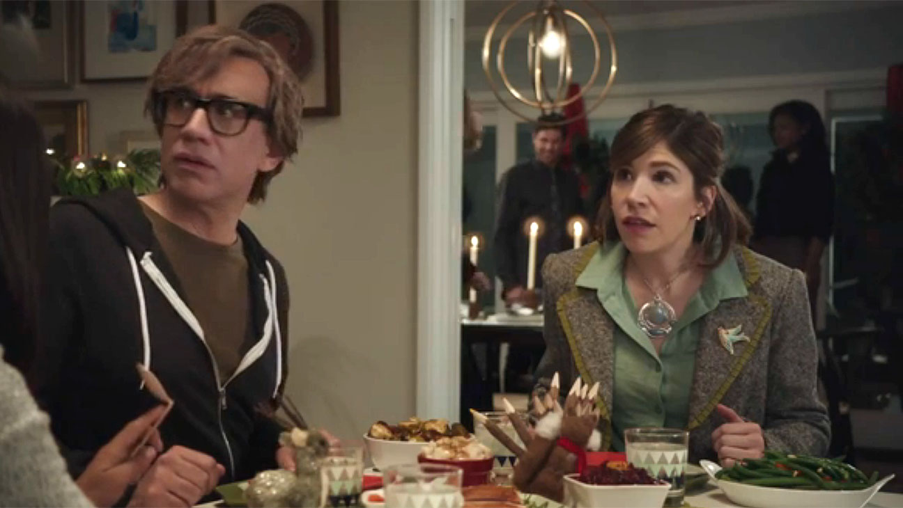 Fred Armisen and Carrie Brownstein Old Navy Screen Shot- H 2015