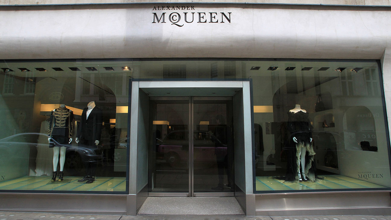 Alexander McQueen store on Old Bond Street London, England - H 2015