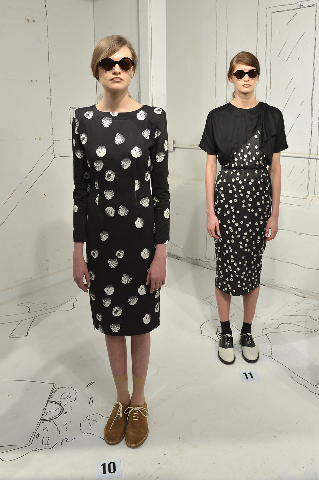 Band Of Outsiders Women's Presentation Mercedes-Benz Fashion Week Fall 2014 -H 2015