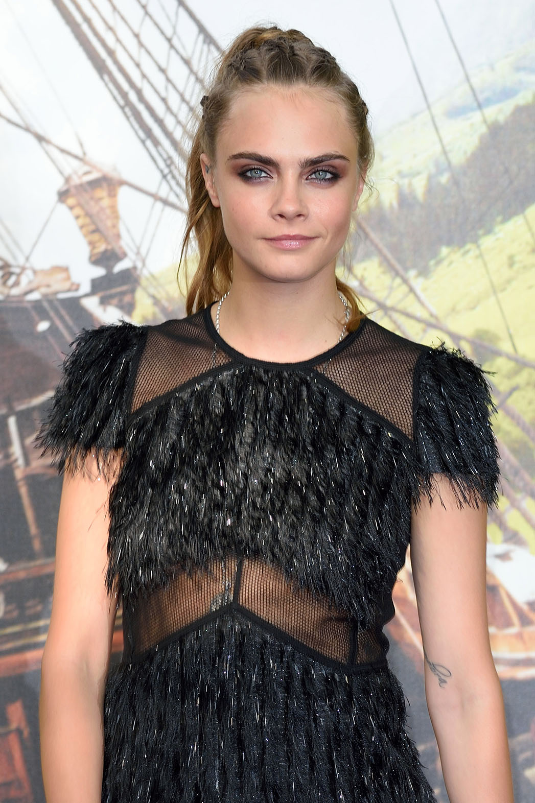 """Cara Delevingne attends the World Premiere of """"Pan"""" at Odeon Leicester Square  - H 2015"""
