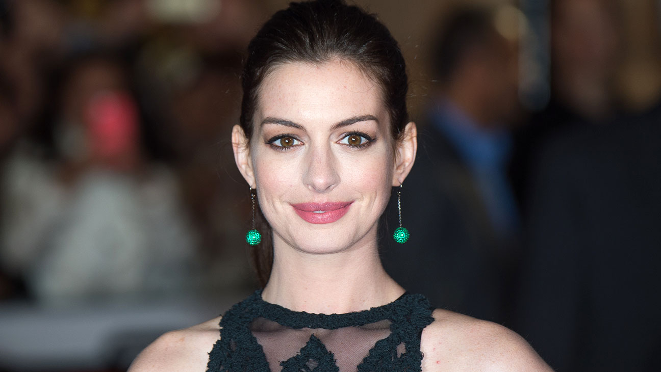 Anne Hathaway UK Premiere of The Intern - H 2015
