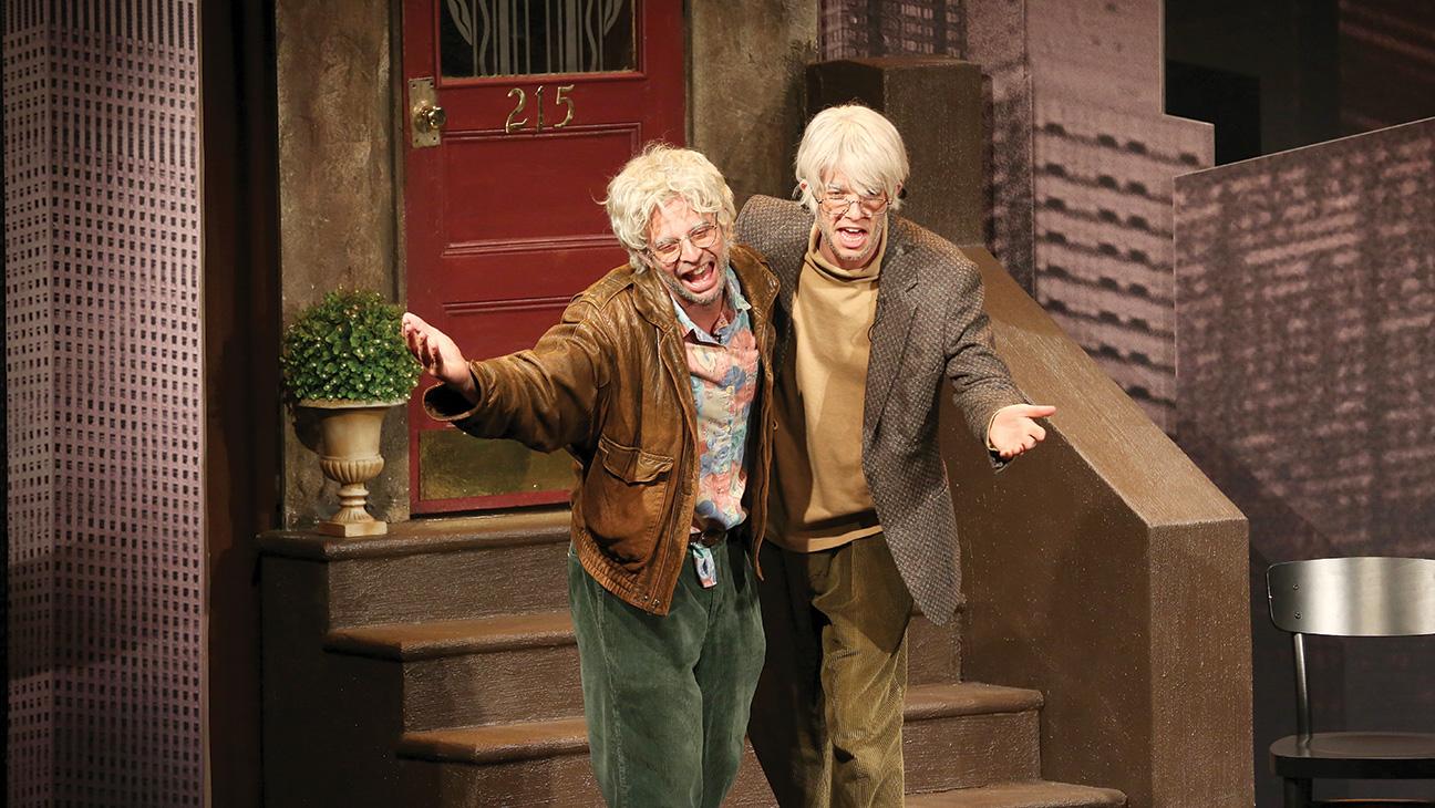 Nick Kroll and John Mulaney's Elderly Bromance - H 2015