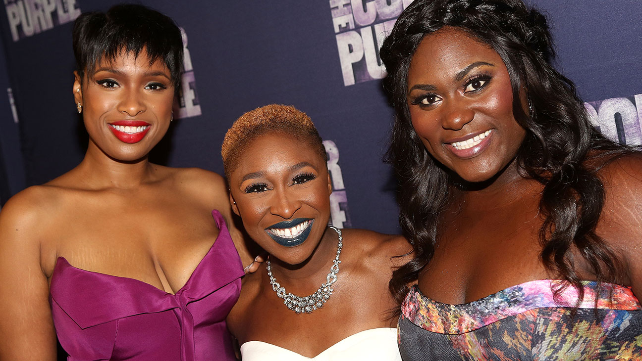 Jennifer Hudson, Cynthia Erivo and Danielle Brooks The Color Purple - H 2015