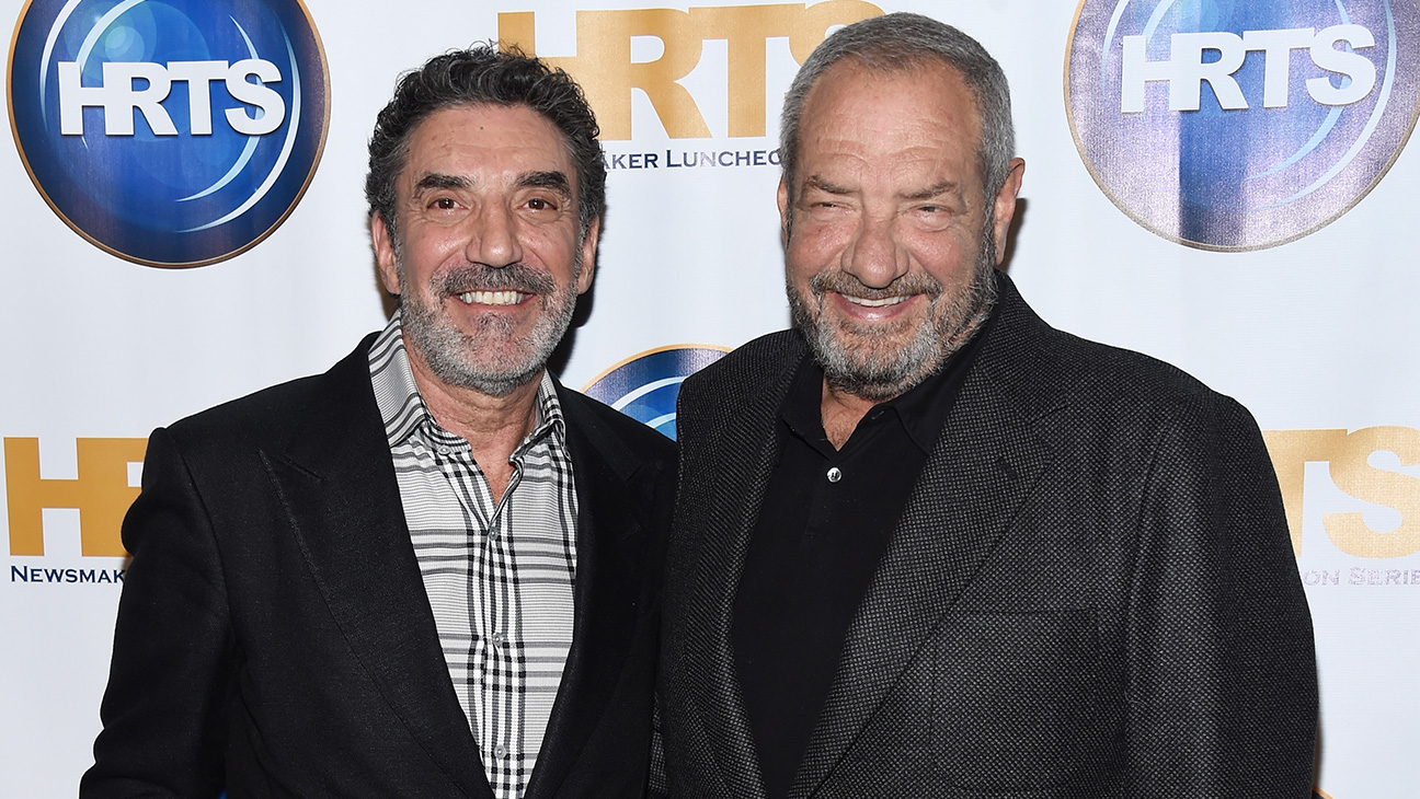 Chuck Lorre and Dick Wolf - H 2015