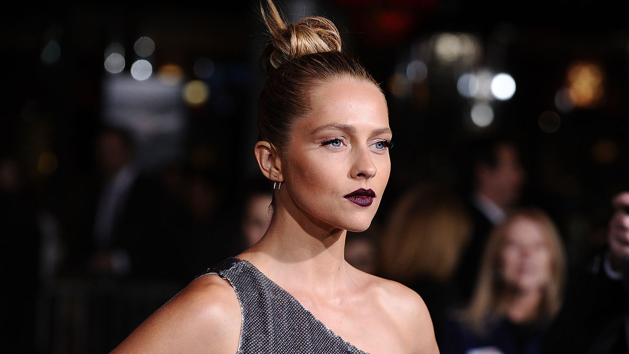 Teresa Palmer attends the premiere of Point Break - H 2015
