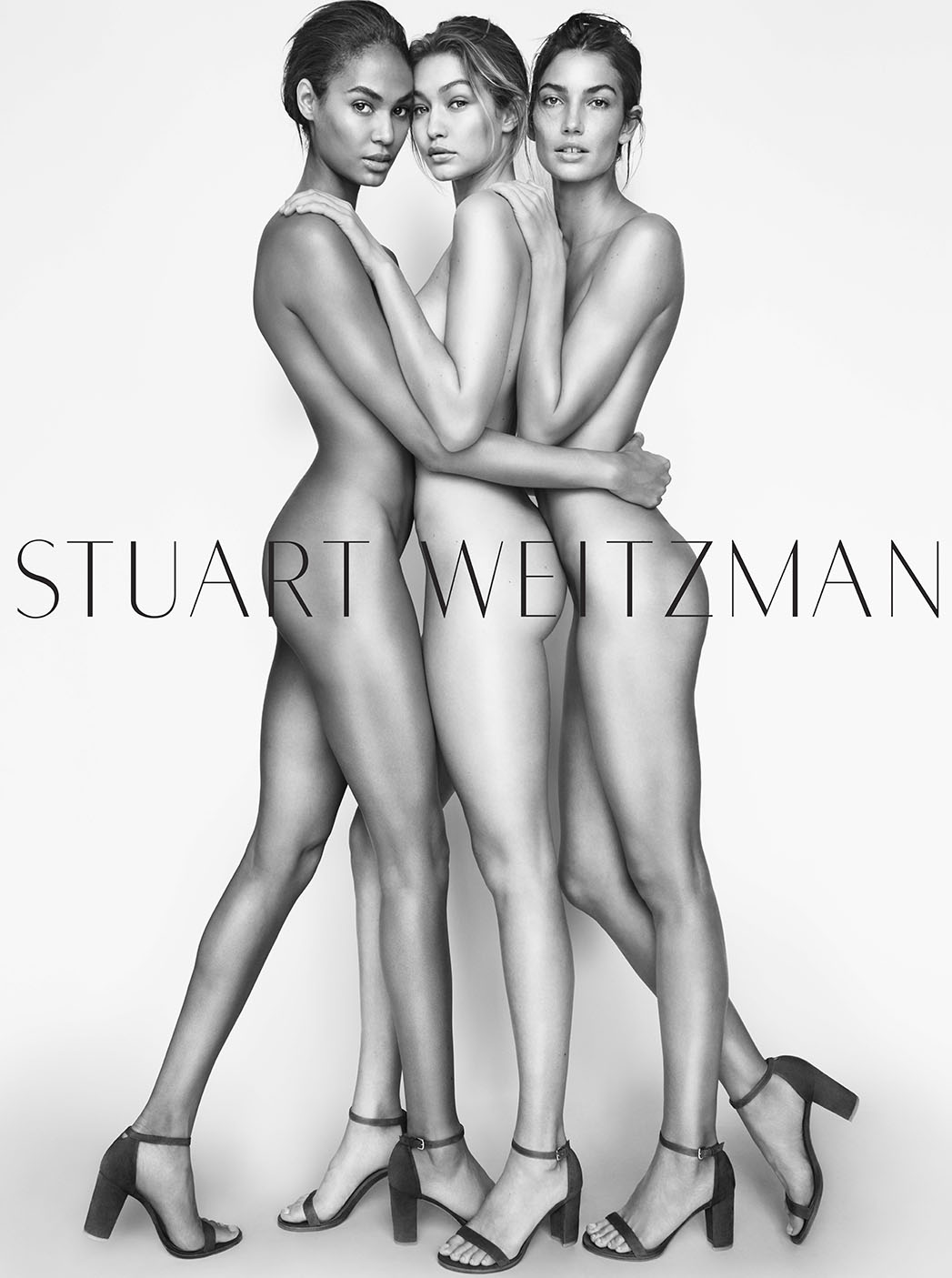 Gigi, Joan and Lily for Stuart Weitzman - P 2015